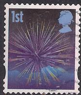 GB 2008 QE2 1st Smilers Fireworks Used 4th Series SG 2823 ( T373 ) - 1952-.... (Elizabeth II)