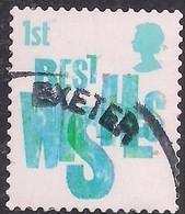 GB 2006 QE2 1st Smilers Best Wishes Used 2nd Series SG 2673 ( M1267 ) - 1952-.... (Elizabeth II)