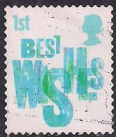 GB 2006 QE2 1st Smilers Best Wishes Used 2nd Series SG 2673 ( M1308 ) - 1952-.... (Elizabeth II)