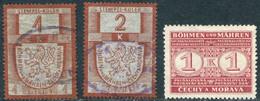 Protectorate Bohemia & Moravia 1939 Revenue Fiscal Stempelmarke Consuption Tax Verzehrsteuer Böhmen Und Mähren Germany - Other