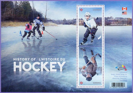Canada 2017. History Of Ice Hockey Joint Issue With USA.   MNH - Gebruikt