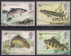 GB 1983 QE2 Set British River Fish Used On Paper ( 1465 ) - 1952-.... (Elizabeth II)