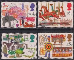 GB 1983 QE2 Set British Fairs Used On Paper ( 1477 ) - 1952-.... (Elizabeth II)