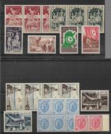 LOT   TUNISIE  **   NEUFS SANS CHARNIERE - Collections (sans Albums)