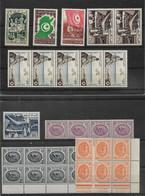LOT   TUNISIE  + ALGERIE  **   NEUFS SANS CHARNIERE - Collections (sans Albums)
