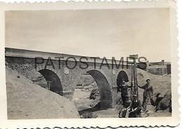 143530 BOLIVIA BOLIVIA BRIDGE PUENTE INTERNACIONAL LIMITE 9 X 6.5 CM PHOTO NO POSTAL POSTCARD - Bolivië