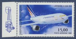 N° 63a Airbus A300 Faciale 15,00 F Issu De Min Feuille - 1960-.... Ungebraucht