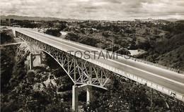 143583 GUATEMALA CITY NUEVO BRIDGE PUENTE BELICE YEAR 1962 POSTAL POSTCARD - Guatemala