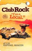 Camel Rock Casino - Tesuque NM - Slot Card With COLOR Logos On Back - Carte Di Casinò