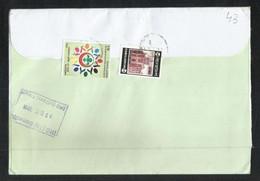 Bangladesh Air Mail Postal Used Cover Bangladesh To Pakistan Scout Scouts - Bangladesh