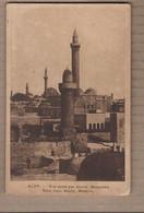 CPA SYRIE - ALEP - Vue Prise Par Akabé - Mosquées - TB PLAN Edifices Religieux - RELIGION - Siria