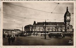 CPA Paris 12e - La Gare De Lyon (56035) - Métro Parisien, Gares