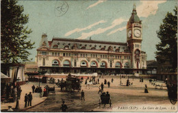 CPA Paris 12e - La Gare De Lyon (56048) - Métro Parisien, Gares