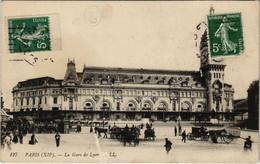 CPA Paris 12e - 127. La Gare De Lyon (56049) - Métro Parisien, Gares