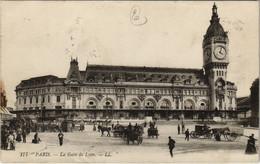 CPA Paris 12e - 177. La Gare De Lyon (56050) - Métro Parisien, Gares