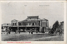 CPA Paris 12e - 29. Gare De La Bastille (56056) - Métro Parisien, Gares
