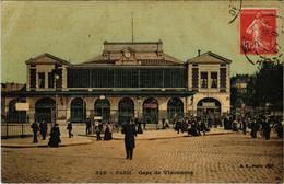 CPA Paris 12e - 536. Gare De Vincennes (56058) - Métro Parisien, Gares