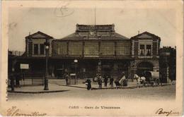 CPA Paris 12e - Gare De Vincennes (56059) - Métro Parisien, Gares
