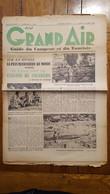 AU GRAND AIR GUIDE DU CAMPEUR ET DU TOURISTE N°8 DE AVRIL 1939 FORMAT JOURNAL 8 PAGES - 1900 - 1949