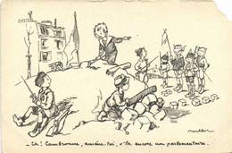 Militaria Patriotique  Poulbot N°59  - Eh ! Cambronne ,amene Toi ,v'la Encore Un Parlementaire    RV - Patrióticos