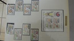 L35 Thématique (timbres/blocs**) Jeux Olympiques Séoul/Calgary En Plusieurs Pays TOME 1 : De A à C A Saisir !!! - Collections (with Albums)