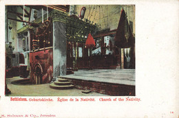 CPA - Israel - Bethlehem - Geburtskirche - Eglise De La Nativité - Israele
