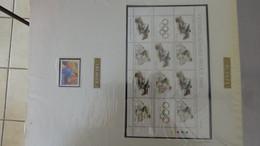 L37 Thématique (timbres/blocs**) Jeux Olympiques Séoul/Calgary En Plusieurs Pays TOME 3 : De I à N A Saisir !!! - Collections (with Albums)