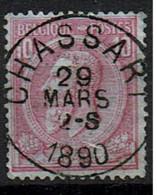 46  Obl   Concours  Chassart  + 4 - 1869-1888 Lion Couché