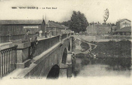 SAINT DIZIER  Le Pont Neuf Laveuses Commerce De Bois RV - Saint Dizier