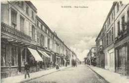 SAINT DIZIER  Rue Gambetta Commerces Pharmacie   RV - Saint Dizier