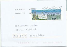 Vignette De Distributeur Lisa - ATM - Paris - Moscou - 2010-... Illustrated Franking Labels