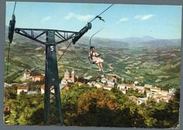 °°° Cartolina - Lizzano In Belvedere Seggiovia Monte Pizzo Viaggiata °°° - Bologna