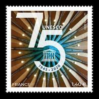 France (UNESCO) 2020 Mih. 83 75th Anniversary Of UNESCO MNH ** - Ongebruikt