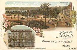 ITALIE - Type Gruss - Saluto Da Napoli - Hôte De Bretagne - N° A 3688 - Napoli (Naples)