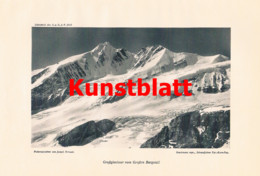 747 Franz Tursky Skifahrten Hohe Tauern Großglockner Artikel 1913 !! - Revistas & Periódicos