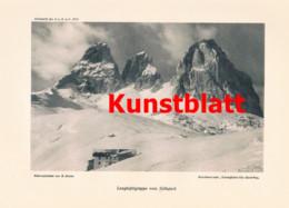 749 Guido Mayer Langkofel Gröden Dolomiten Dolomiti Südtirol Italien Artikel 1913 !! - Revistas & Periódicos