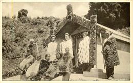 New-Zealand - Maori Tomb - Neuseeland