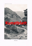 751 Steinitzer Bergfahrten Bergsteigen Alpinismus Japan Artikel 1913 !! - Revistas & Periódicos