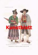 752 Hamza Volkskunde Niederösterreich Tracht Dialekt Artikel 1913 !! - Revistas & Periódicos