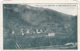 MEZZENILE-TORINO-PANORAMA DEL CENTRO-CARTOLINA  VIAGGIATA IL 1-9-1921 - Italy