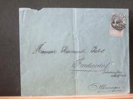 80/444  LETTRE   BELGE BRUX.   POUR ALLEMAGNE - 1893-1900 Schmaler Bart