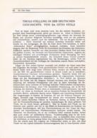 753 Otto Stolz Tirol Südtirol Deutsche Geschichte Italien Artikel 1913 !! - Revistas & Periódicos