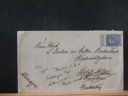 80/443  LETTRE   BELGE    POUR ALLEMAGNE - 1893-1900 Schmaler Bart