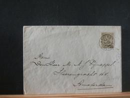 80/444  LETTRE   BELGE    POUR AMSTERDAM  1904 - 1893-1900 Schmaler Bart