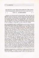 754 Klebelsberg Eiszeit Gletscher Gletscherkunde Ostalpen Artikel 1913 !! - Other