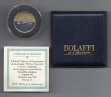 """ITALIA - 1960 - 500 Lire """"Caravelle"""" - Colorata - Argento 835 -Con Custodia E Garanzi Bolaffi  - (FDC25039) - 500 Liras"""