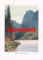 755 Reinl Gosaukamm Paul Preuss Dachstein Gosau Alpinismus Artikel 1914 !! - Revistas & Periódicos