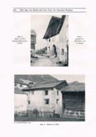 756 Handl Samnaun Samnaungruppe Bergsteigen Tirol Graubünden Artikel 1914 !! - Revistas & Periódicos