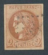 """DV-12: FRANCE: Lot Avec """"BORDEAUX"""" N°40B Obl 1er Choix - 1870 Emissione Di Bordeaux"""