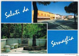 SERNAGLIA  DELLA  BATTAGLIA:  2  VEDUTE -  FOTO  -  FG - Treviso